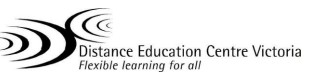 Distance Education Centre Victoria - Sydney Private Schools