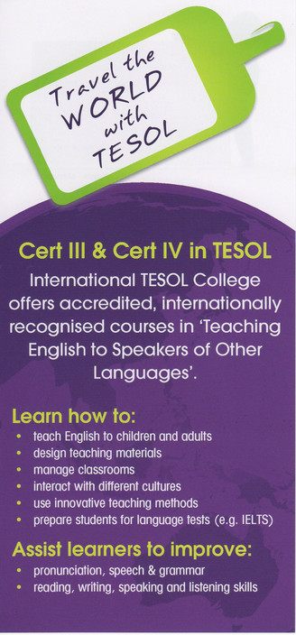 International TESOL College - Sydney Private Schools